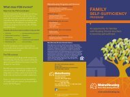 What is the Family self-sufficiency - Maine State Housing Authority