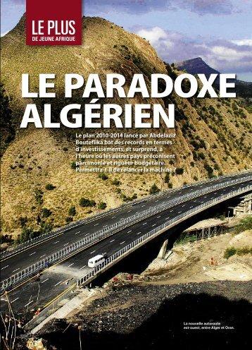 LE PARADOXE ALGÉRIEN - Jeune Afrique