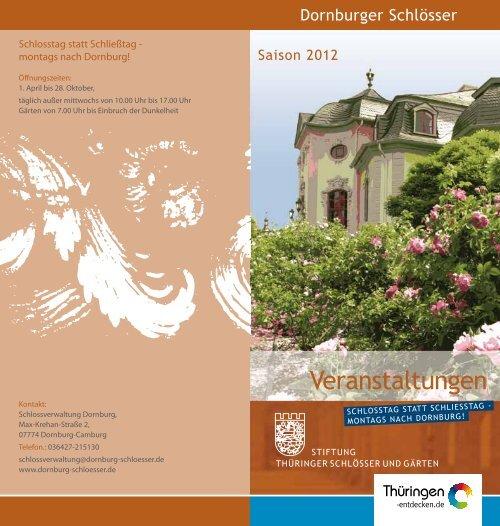 Download Pdf 423 Kb Stiftung Thüringer Schlösser Und Gärten
