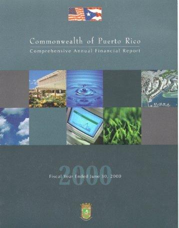 commonwealth of puerto rico - Departamento de Hacienda