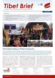 Tibet Brief - International Campaign for Tibet