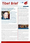 Tibet Brief - International Campaign for Tibet - Page 3