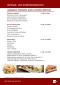 Cateringmappe Plaza Eurest 2011 - EURO PLAZA - Page 4