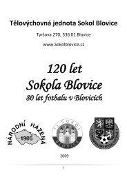 120 let Sokola Blovice - Info Blovice