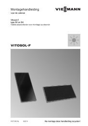 Montage- handleiding vrije montage618 KB - Viessmann