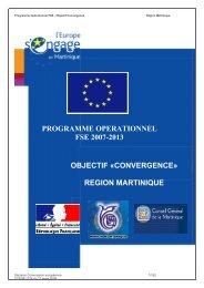 PO FSE MARTINIQUE.pdf - Europe en France, le portail des Fonds ...