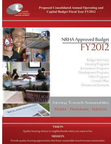 FY 2012 Approved Budget - Norfolk Redevelopment and Housing ...