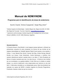 Manual de NDM/VNDM: