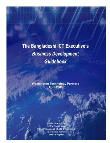 The Bangladeshi ICT Executive's Business Development Guidebook