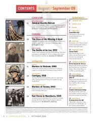 to see the September 2009 Table of Contents - Armchair General