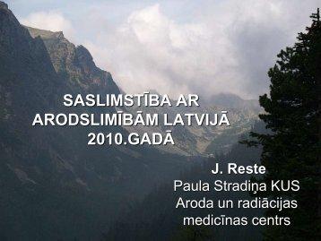 P.Stradiņa KUS Aroda un radiācijas medicīnas centra - Valsts Darba ...