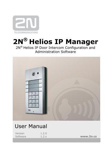 2N® Helios IP Manager User manual version 1.2.pdf