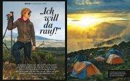 in sieben Tagen auf den Kilimandscharo, mit ... - DAV Summit Club