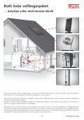 Roth solarsystem, projektering och montering - Roth Nordic AB - Page 2