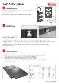 Roth solarsystem, projektering och montering - Roth Nordic AB - Page 4