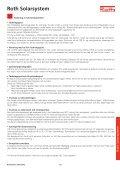 Roth solarsystem, projektering och montering - Roth Nordic AB - Page 7
