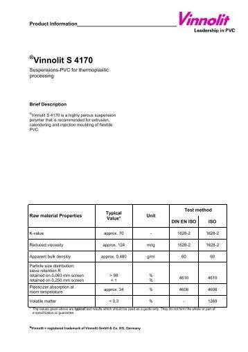 Vinnolit S 4170