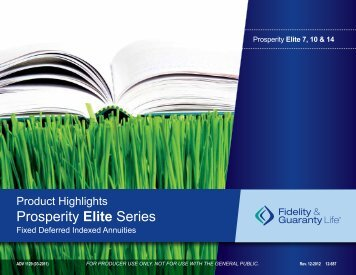 Prosperity Elite Overview - PFG Marketing Group, Inc.