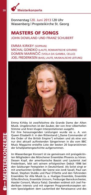 Flyer (PDF) - Heinsberg International Guitar Festival and Competition