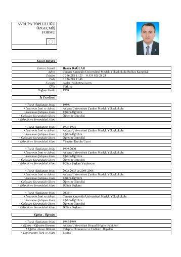 Öğr. Gör. Hasan Dağlar - Meslek Yüksekokulu - Çankırı Karatekin ...