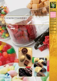 Confectionery - ADM