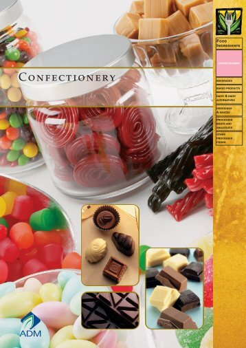 Confectionery - ADM