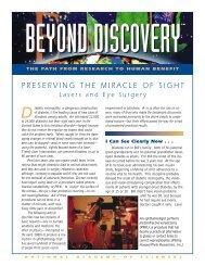 Diabetic retinopathy, a dangerous complication - Beyond Discovery