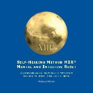 Self-Healing Method MIR - Mental and Intuitive Reset