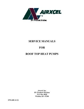 York rooftop service manuals array service manual ecocontrol plus for cool only heat pump r 407c rh yumpu com fandeluxe Gallery
