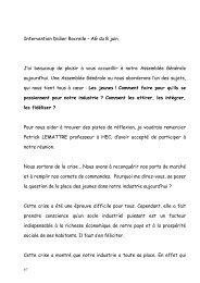 Intervention du Président de l'UIMM Didier ROCRELLE