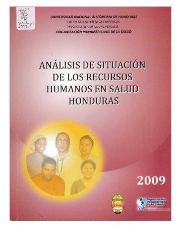 Análisis de Situación de los Recursos Humanos en Salud de ...