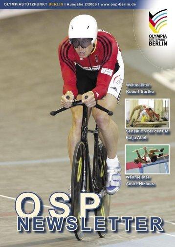 Newsletter 2-2006 - Olympiastützpunkt Berlin