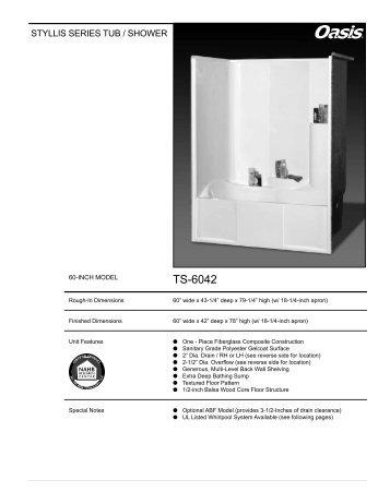 TS-6042 - Oasis Bath