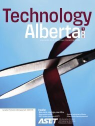 Technology Alberta Nov-Dec.05 - ASET