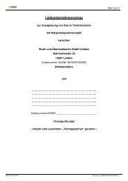 Lieferantenrahmenvertrag - Stadt- und Überlandwerke GmbH Lübben