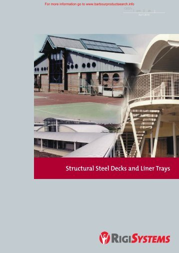 RigiSystems Decking Brochure - Barbour Product Search