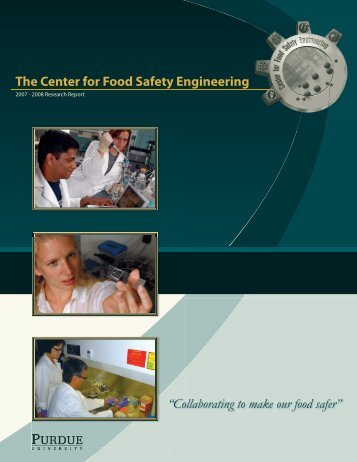 Annual Report - Center for Food Safety Engineering - Purdue ...