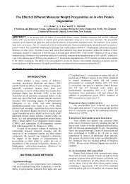 The Effect of Different Molecular Weight Procyanidins on in vitro ...