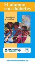 cartilla niño - Fundación para la diabetes