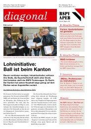 zum diagonal 6/11 (pdf) - BSPV