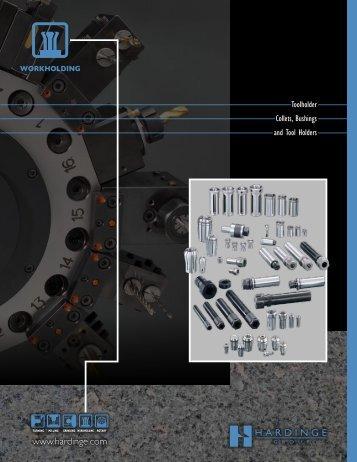 Toolholder Collets, Bushings & Tool Holders - Hardinge Inc.