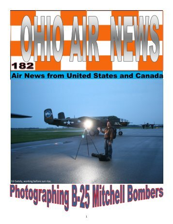 OAN#183 B-25 Photographing - Air Ops Photo