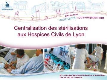 Diapositive 1 - Société Suisse de Stérilisation Hospitalière