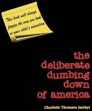 Deliberate Dumbing Down of America - Go Think Blog