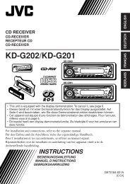 KD-G202/KD-G201