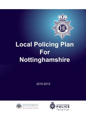 Policing for You - Nottinghamshire Police Authority