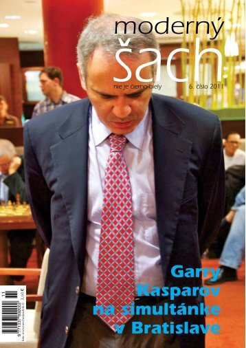 Garry Kasparov na simultánke v Bratislave - ŠK Slovan Bratislava
