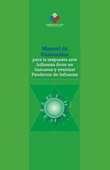 Manual de Contenidos para la respuesta ante Influenza Aviar