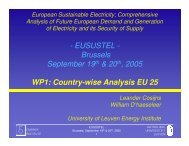WP1 overview - Eusustel.be