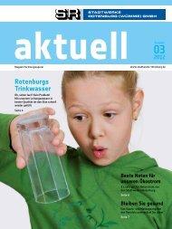 Ausgabe 03/2012 - Stadtwerke Rotenburg